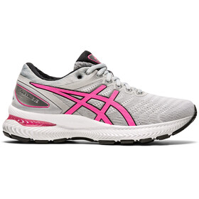 asics Gel-Nimbus 22 Shoes Women, piedmont grey/hot pink